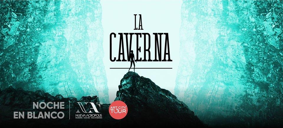 Noche en blanco. La Caverna, despertar de los sentidos. Fotografía, música y audiovisuales
