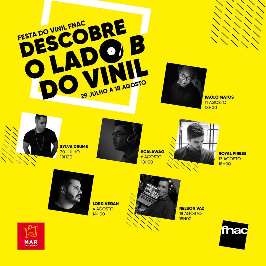 MAR Shopping Algarve organiza 2ª edição da Festa do Vinil
