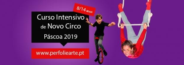 Curso de circo 8/14 anos - Páscoa 2019