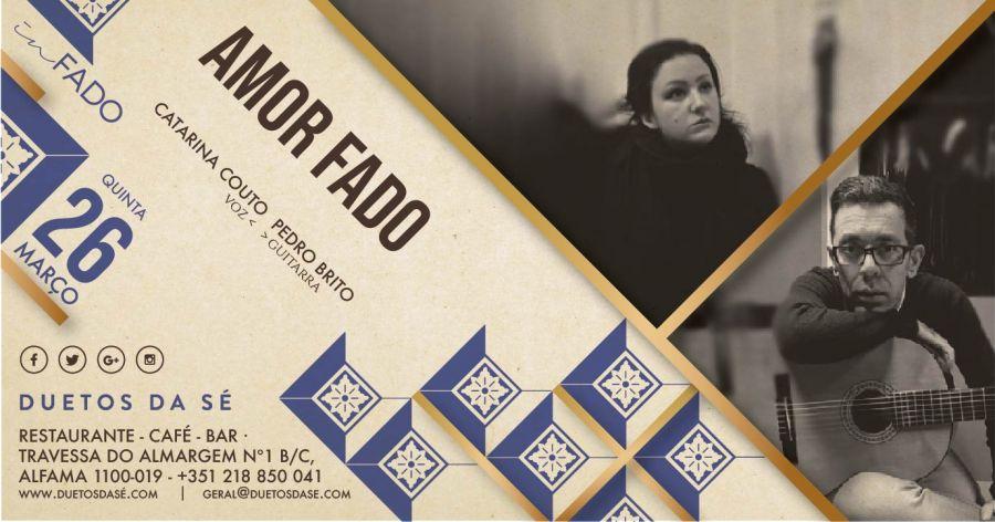 IN FADO – Amor Fado – Catarina Couto & Pedro Brito