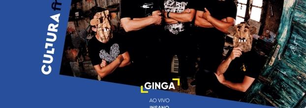 """Ginga ao vivo - Apresentação álbum """"Insano"""""""