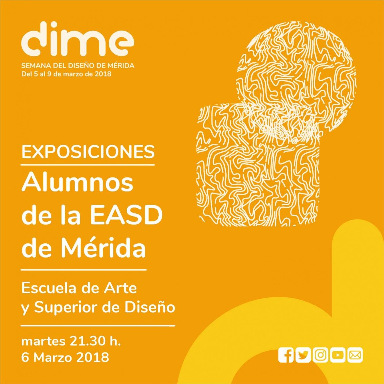 EXPOSICIONES DE DISEÑO ALUMNOS EASDM // Off DIME