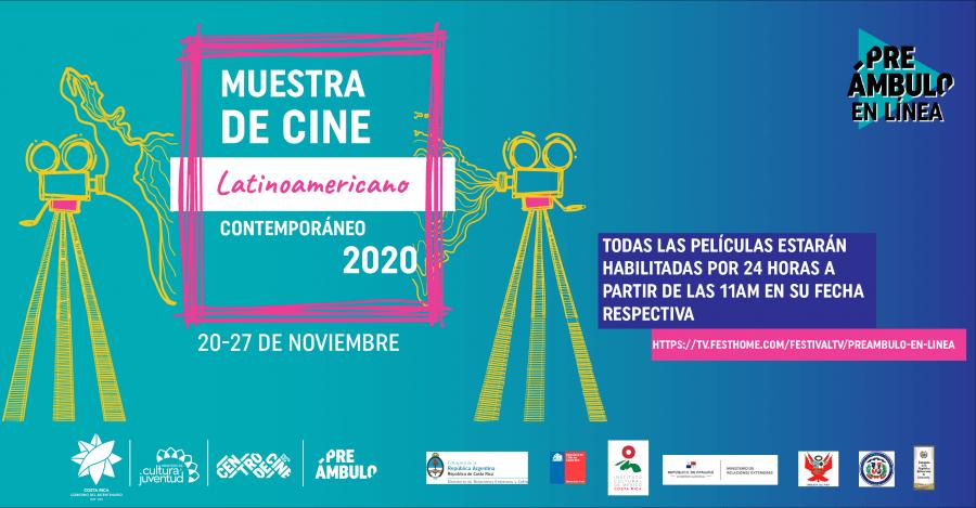 14° Muestra de Cine Latinoamericano Contemporáneo (MCLC) en Preámbulo en Línea