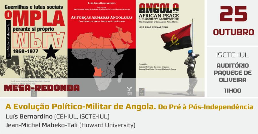 Pensar África: A Evolução Político-Militar de Angola
