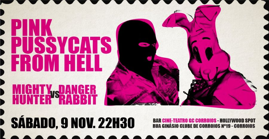 Pink Pussycats From Hell at Bar Cine-Teatro GC Corroios - Hollywood Spot