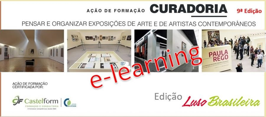 """CURADORIA: Pensar e organizar exposições de arte e de artistas"