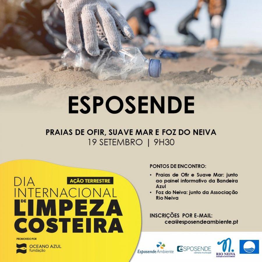 Dia Internacional de Limpeza Costeira | Ação terrestre de limpeza