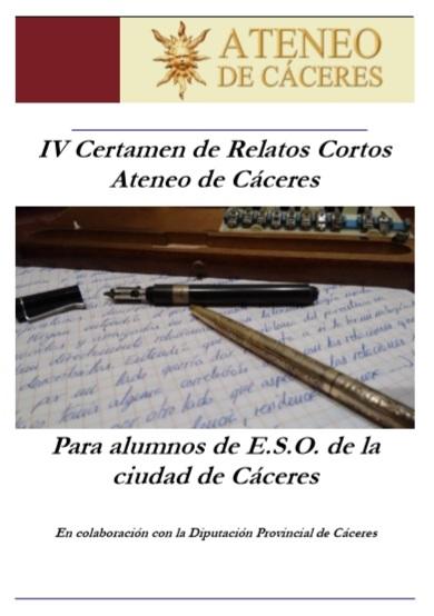 IV CERTAMEN DE RELATOS CORTOS