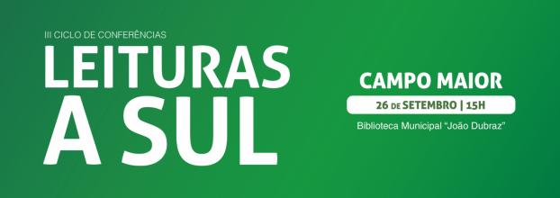 III Leituras a Sul | Campo Maior