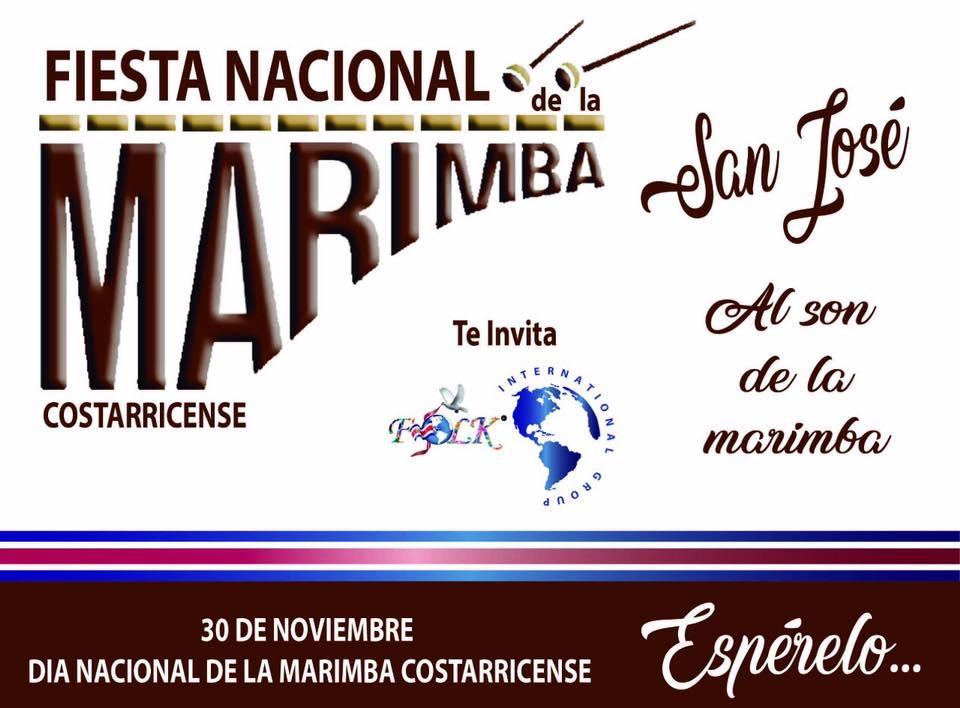 Fiesta nacional de la marimba. Varios artistas. Folclor