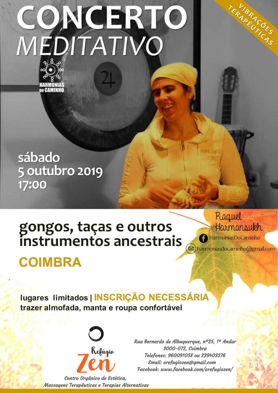 Concerto Meditativo 'Harmonias Do Caminho' (Refúgio Zen,Coimbra)