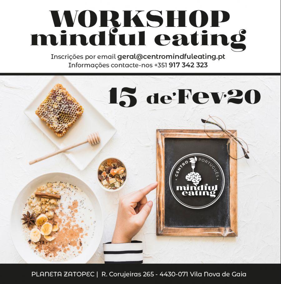 Workshop de Mindful Eating (Alimentação Consciente)