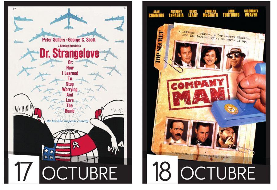 Cine UCR. Ciclo la política es una comedia. Dr. Strangelove & Company Man