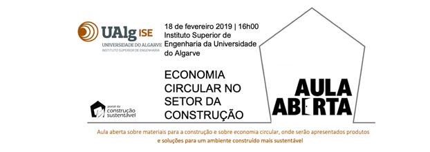 Aula Aberta na Universidade do Algarve - Departamento de Engenharia Civil