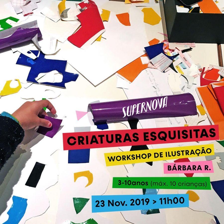 Workshop crianças 'Criaturas Esquisitas'