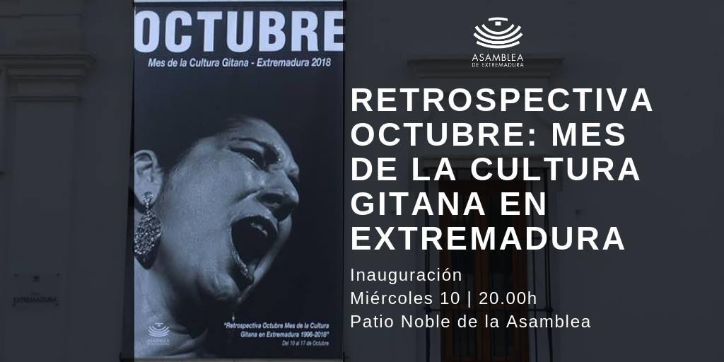 Inauguración Exposición 'Octubre. Mes de la Cultura gitana