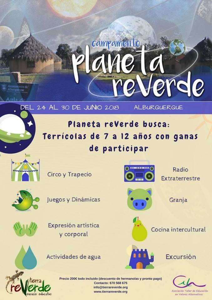 Campamento PLANETA REVERDE (Alburquerque)
