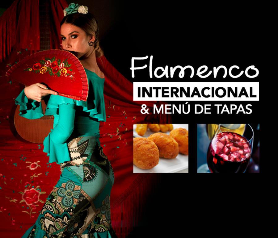 Flamenco & tapas. Abanicos, música y cante gitano