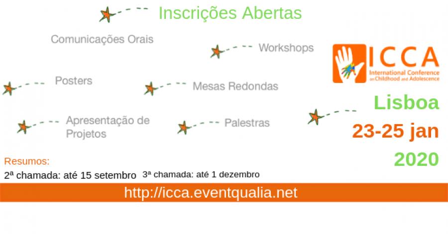 ICCA 2020 - 4º Congresso Internacional da Criança e do Adolescente
