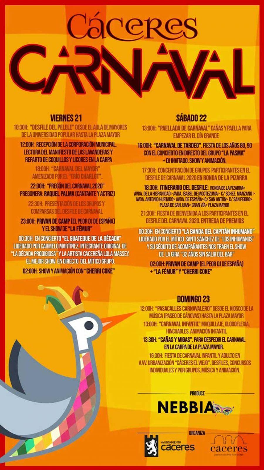 Carnaval de Cáceres 2020