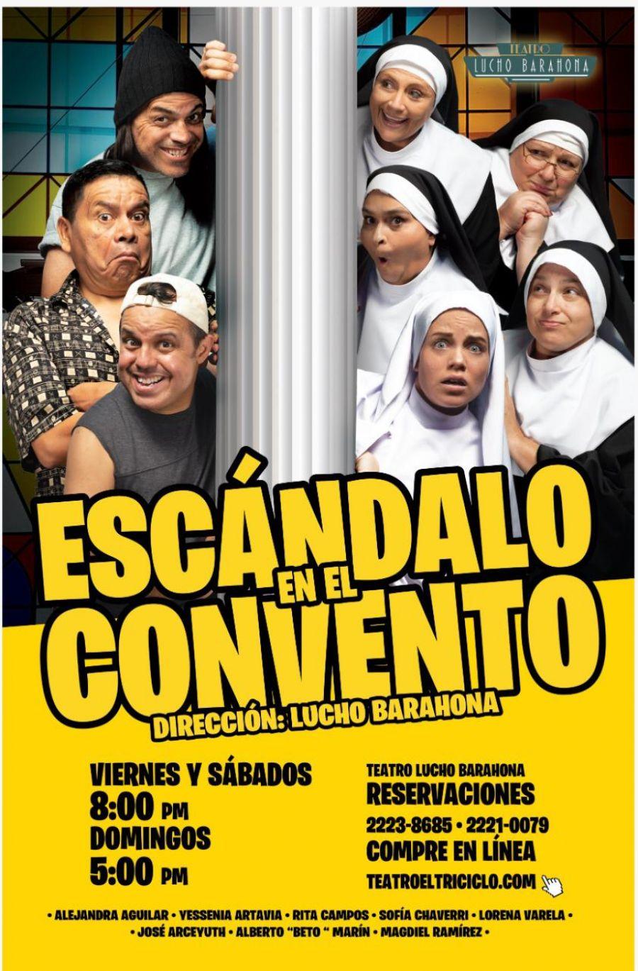 Escándalo en el convento. Lucho Barahona. Comedia