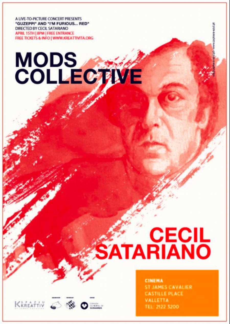 CECIL SATARIANO (1930-1996) | Cineconcerto com MODS Collective