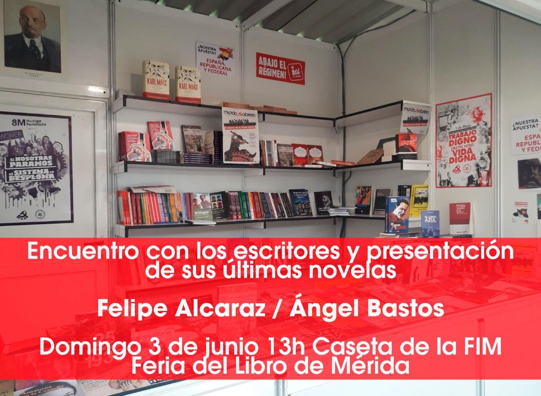 Encuentro con los escritores Felipe Alcaraz y Ángel Bastos || Feria del Libro de Mérida