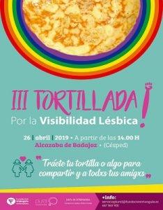 III Tortillada por la Visibilidad Lésbica