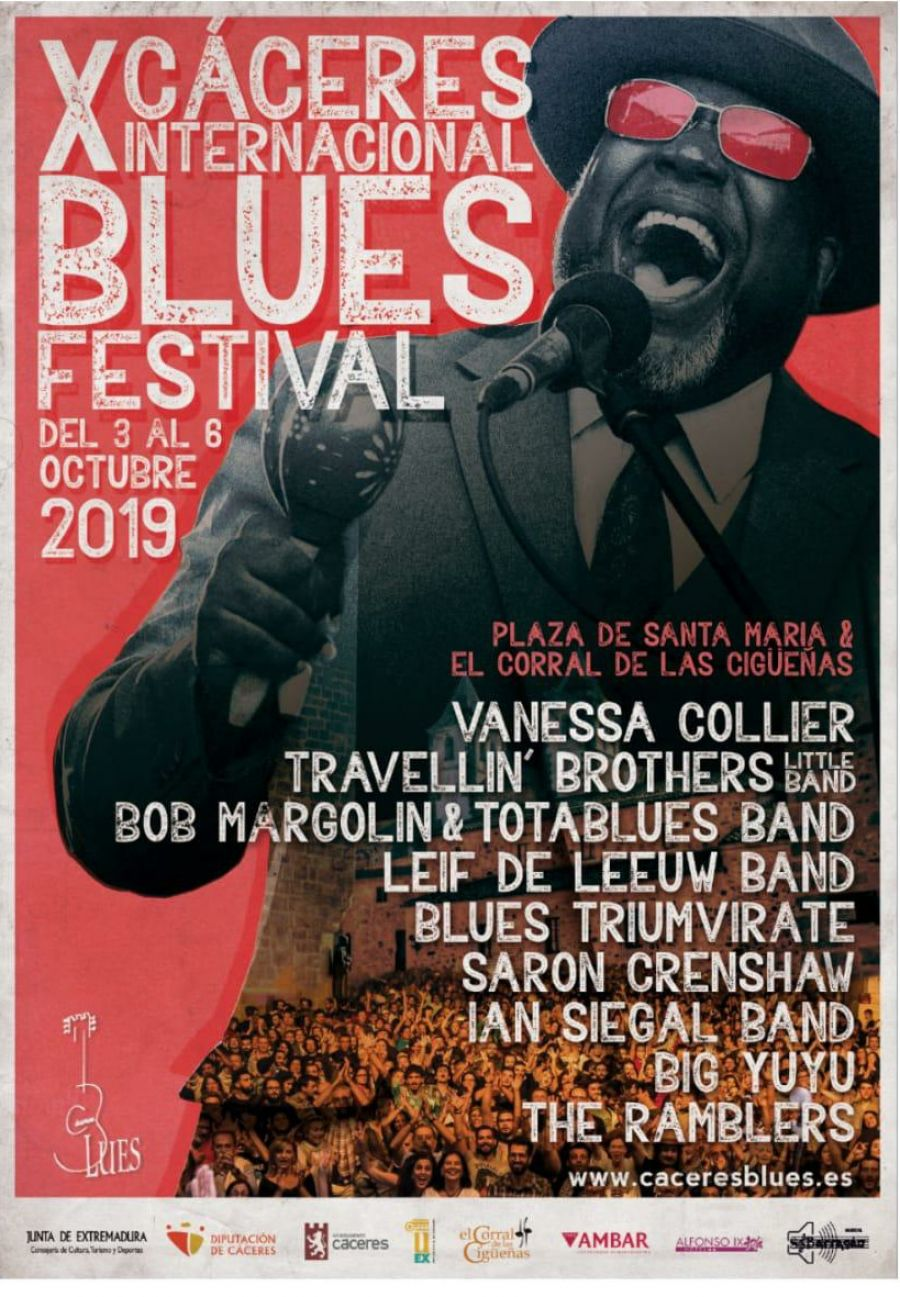 X CÁCERES BLUES FESTIVAL | 2019