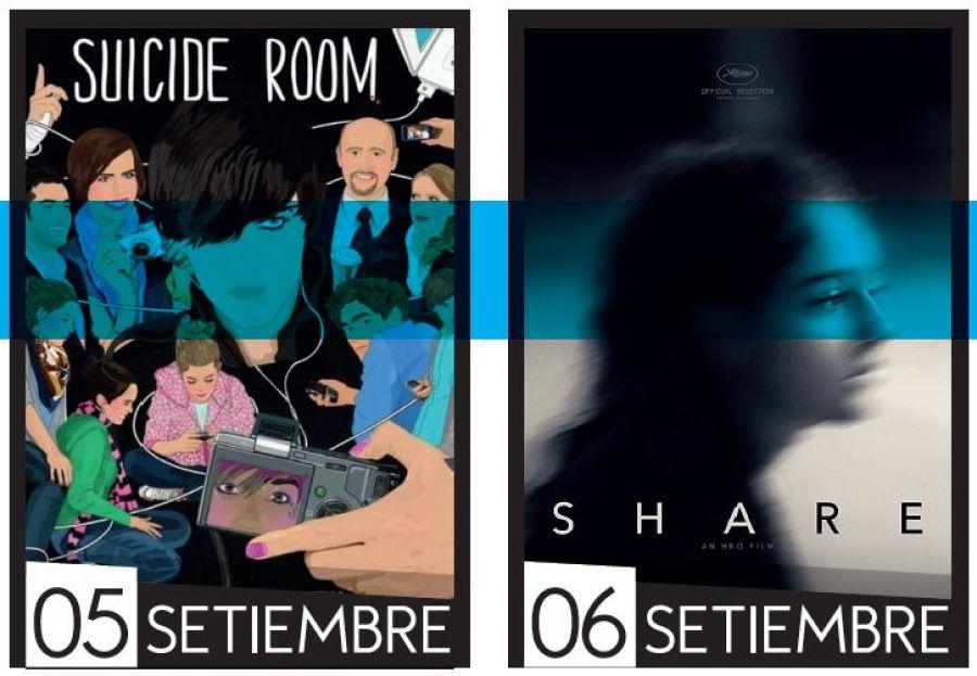 Cine UCR. Desafíos de la juventud. Suicide Room & Share
