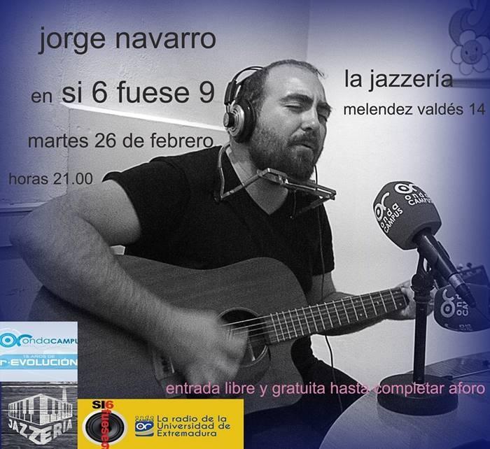 Jorge Navarro en Si 6 fuese 9