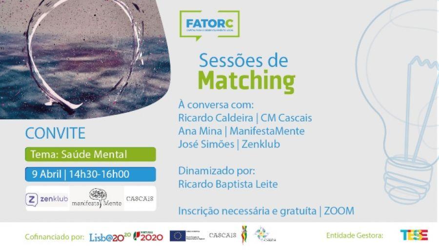 Sessão Matching   Saúde Mental