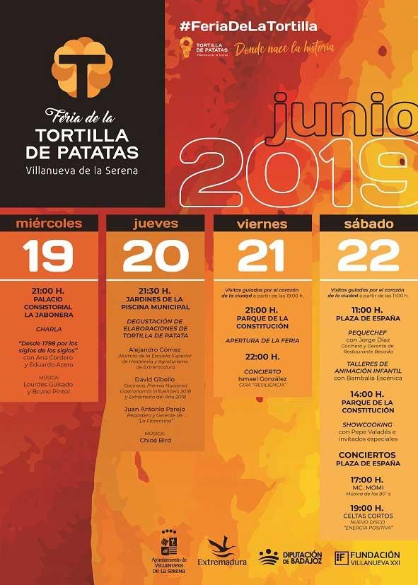 VII FERIA DE LA TORTILLA DE PATATAS 2019
