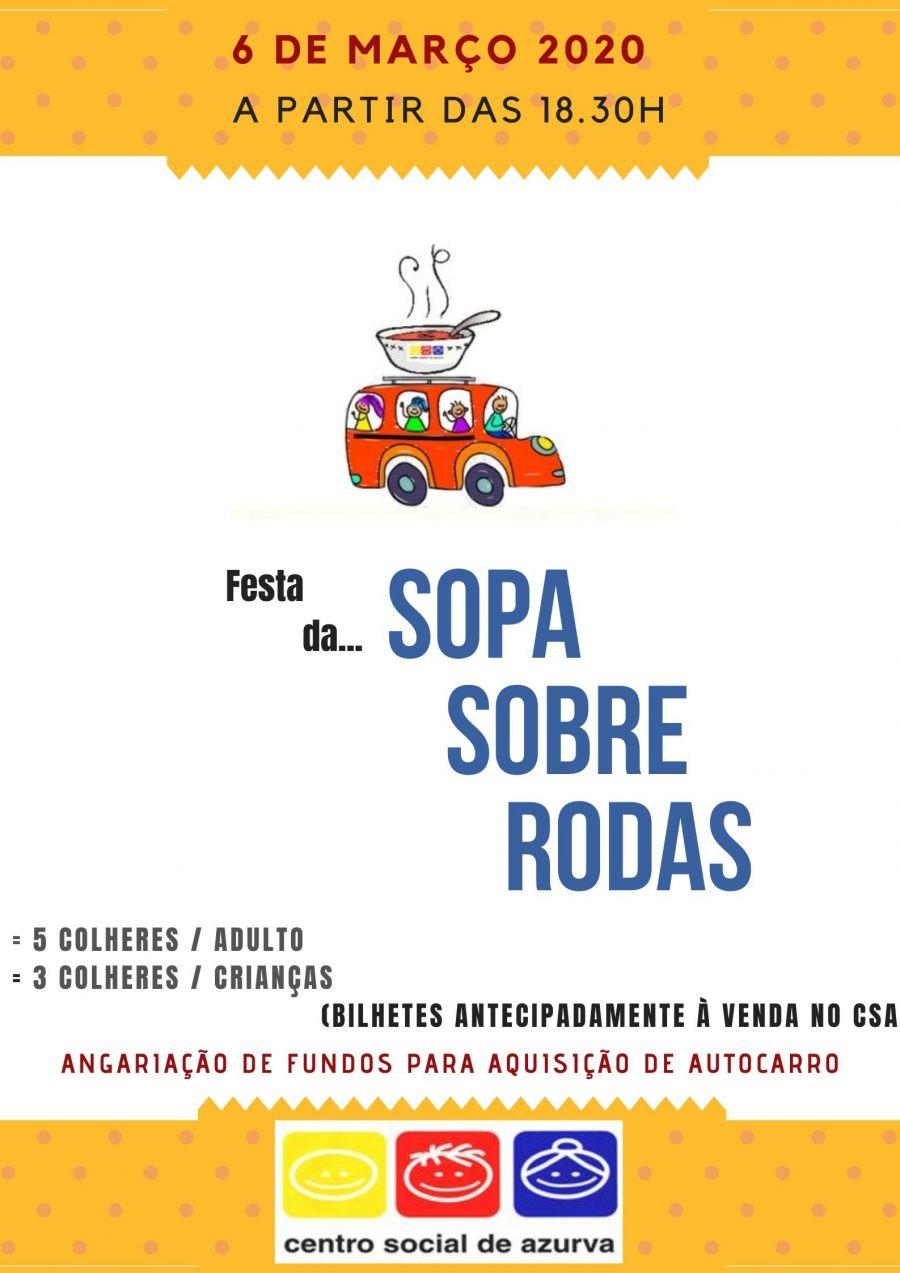 Festa da Sopa da 'Sopa sobre Rodas'