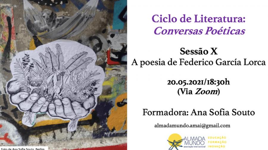 Ciclo 'Conversas Poéticas' - A poesia de Federico García Lorca