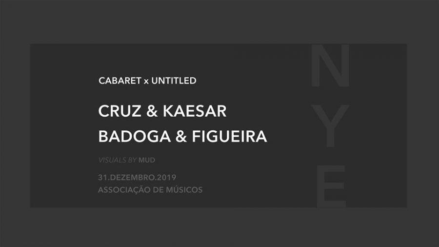 PASSAGEM DE ANO - Cabaret x Untitled NYE 2020