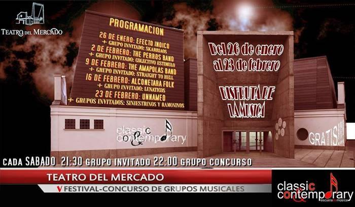 V FESTIVAL-CONCURSO DE GRUPOS MUSICALES