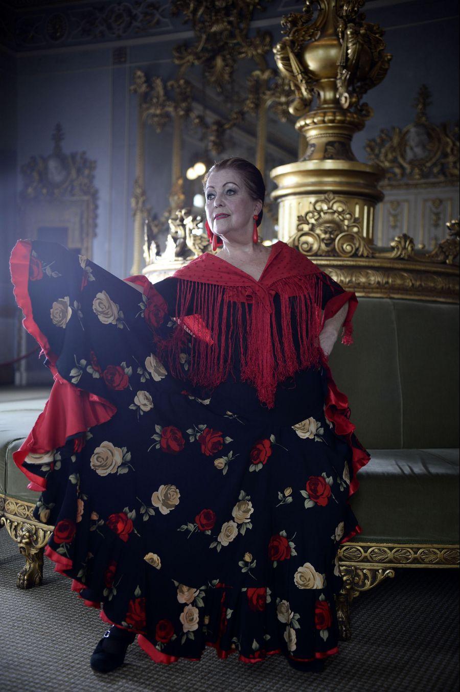 El flamenco hecho mujer. Paulina Peralta