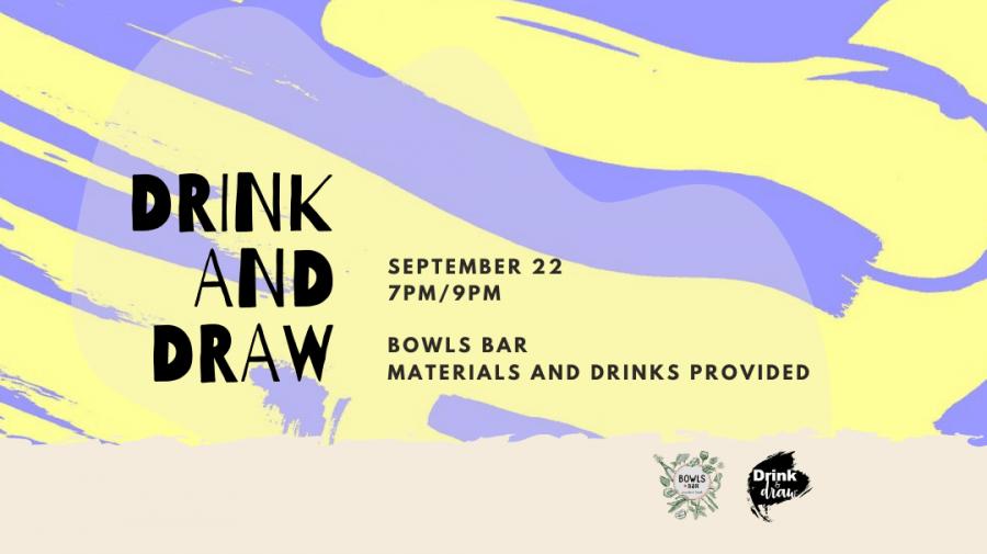 Drink&Draw - Bowls Bar