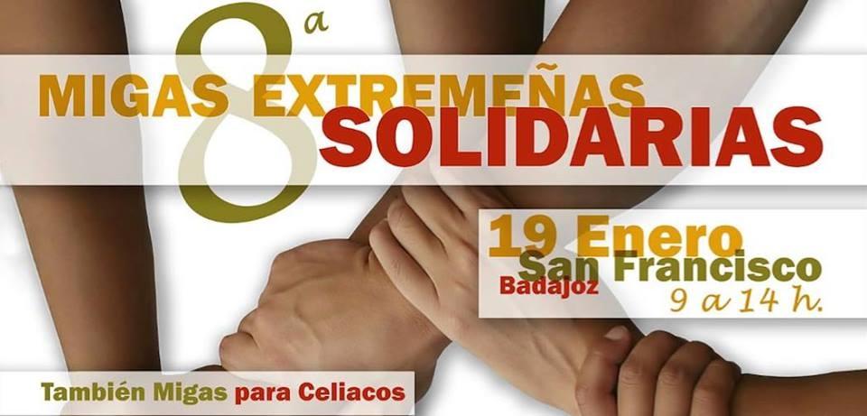 8ª Migas Extremeñas Solidarias || Paseo de San Francisco