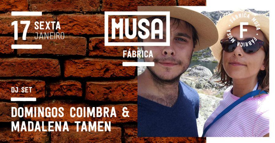 Domingos Coimbra & Madalena Tamen DJ Set