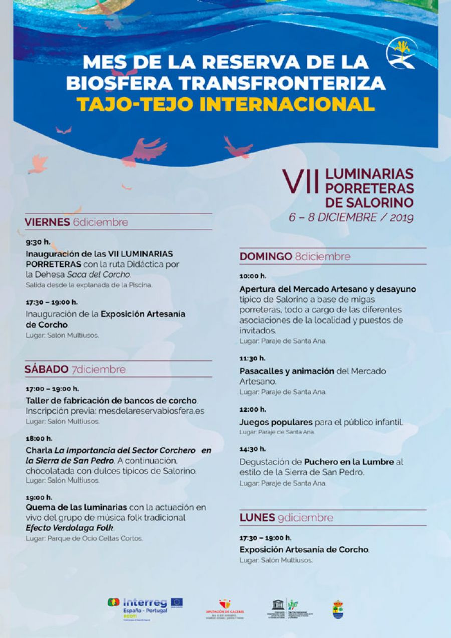 VII LUMINARIAS PORRETERAS DE SALORINO 2019