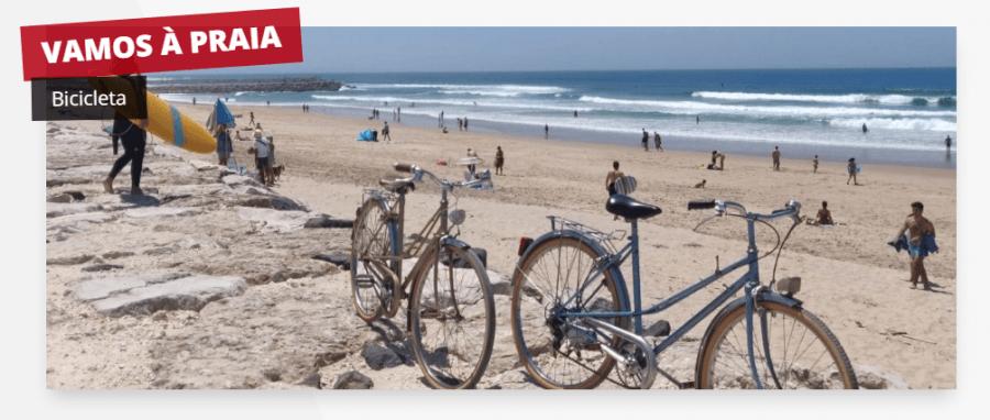 Visita guiada de bicicleta: Vamos à praia!