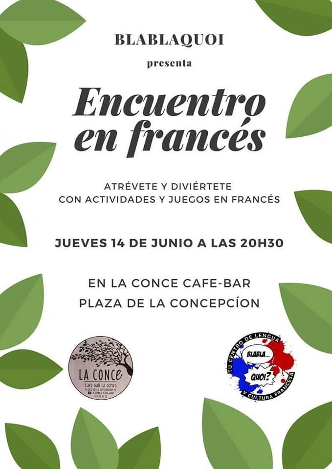 Encuentro en francés || CONCE CAFÉ-BAR