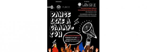 Dance like a champion. Flashmob
