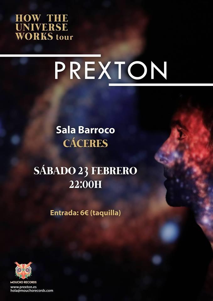 Prexton en Cáceres (con banda)