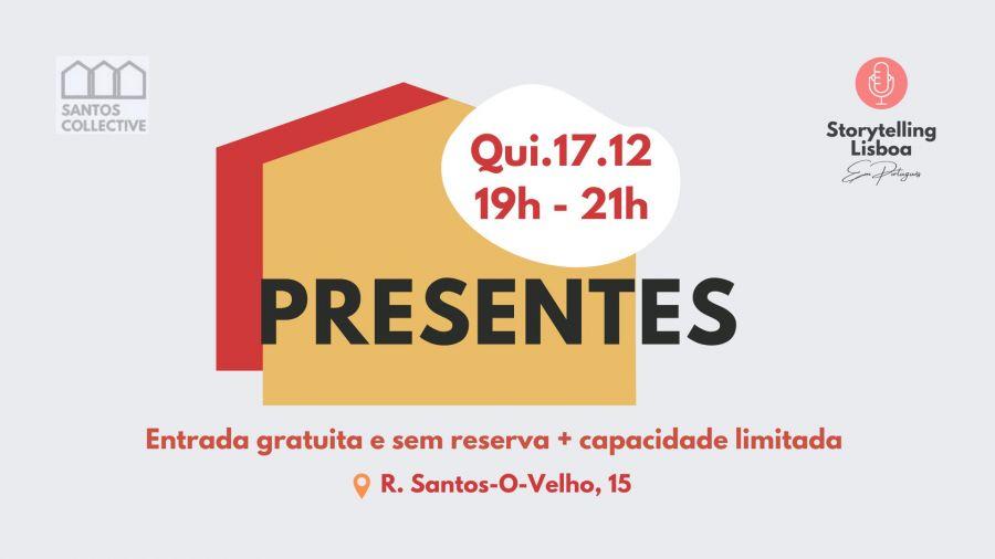 Storytelling em Português ao Ar Livre: 'Presentes'