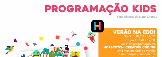 Programação Kids: Verão na Eddi