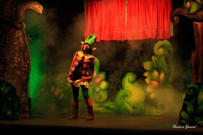 Teatro Ciclo D'Rule | Colorín Colorado este bosque está callado