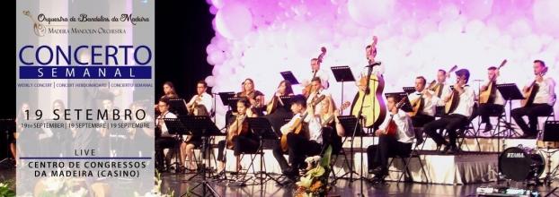 Concerto Semanal Orquestra de Bandolins da Madeira